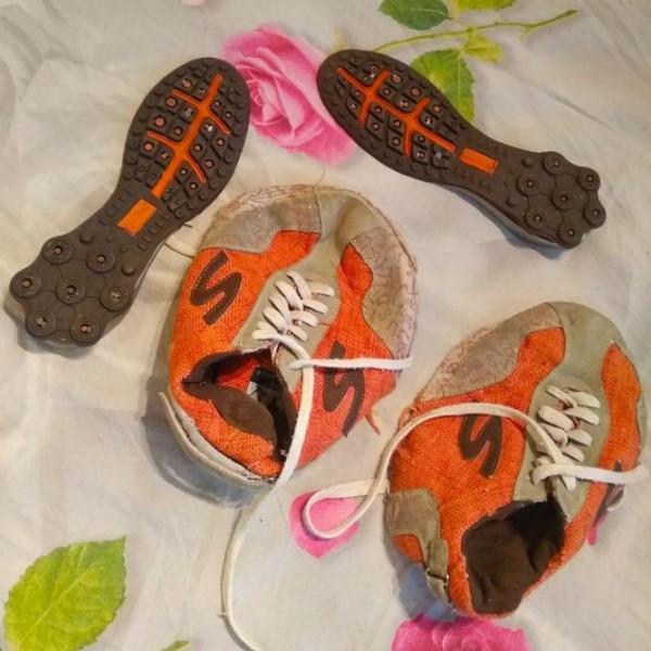 Расползлись кроссовки после стирки