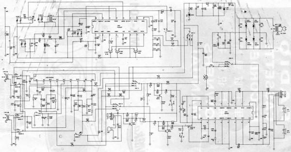 Схема магнитофона MK-3011